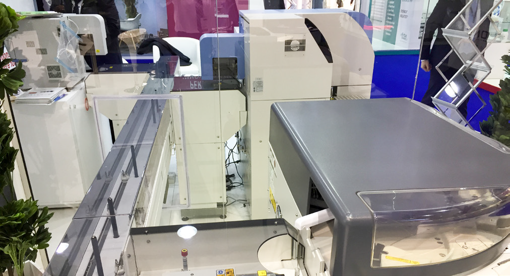 Total laboratory automation with Tosoh and DiaSys