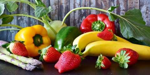 fruit and vegetables, healthy food