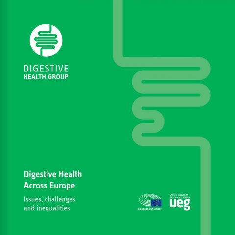 cover of the UEG digestive health report